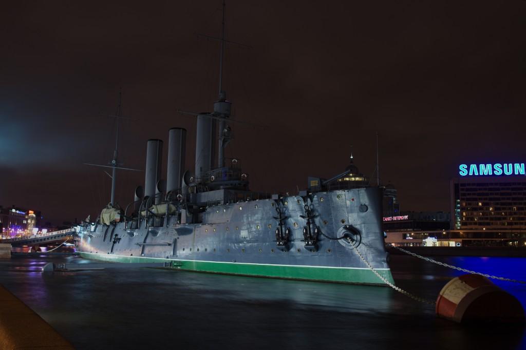 Санкт-Петербург. Крейсер Аврора