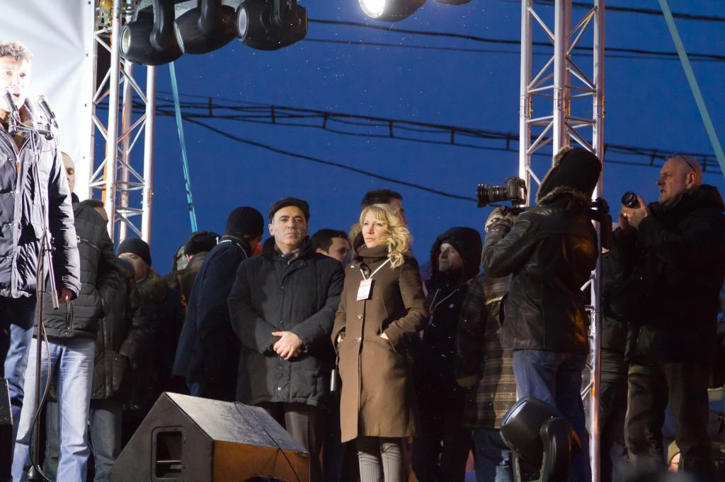 Митинг на Пушкинской площади Каспаров