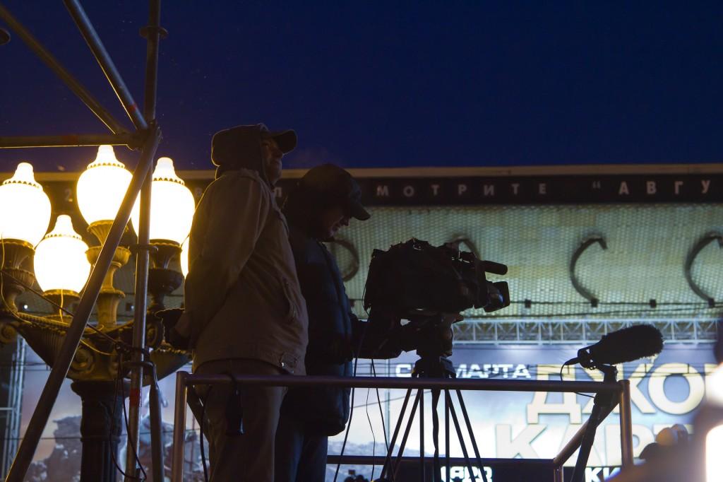 Митинг на Пушкинской площади