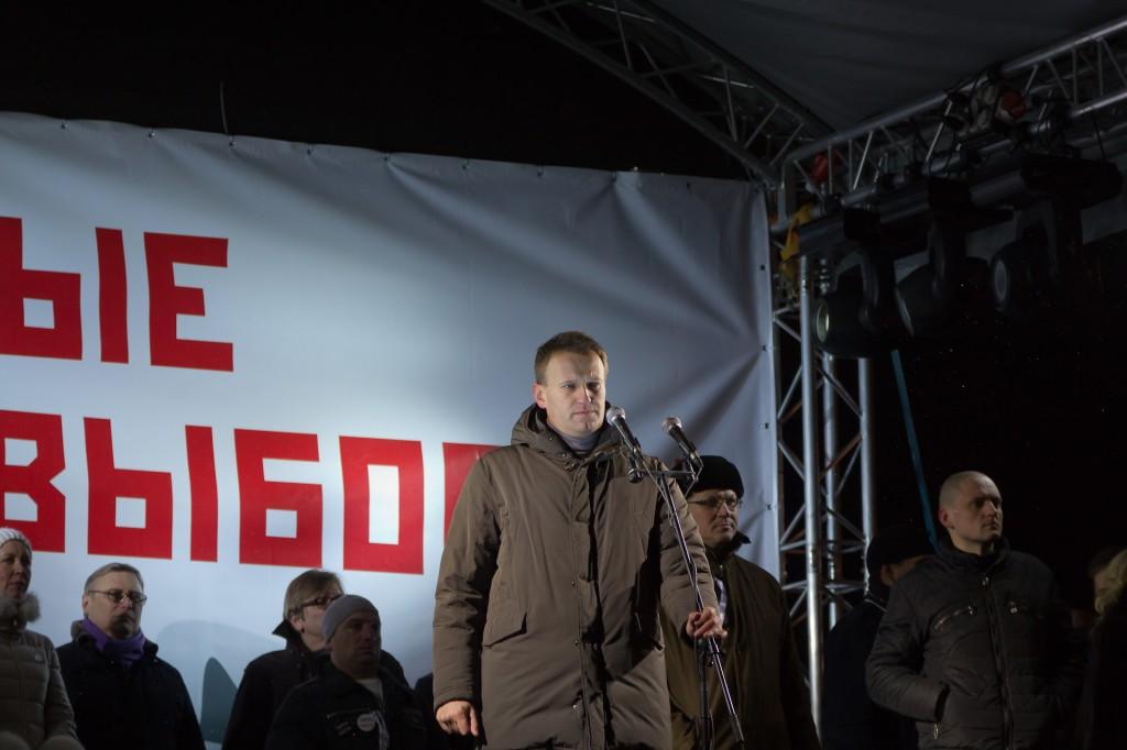 Митинг на Пушкинской площади Алексей Навальный