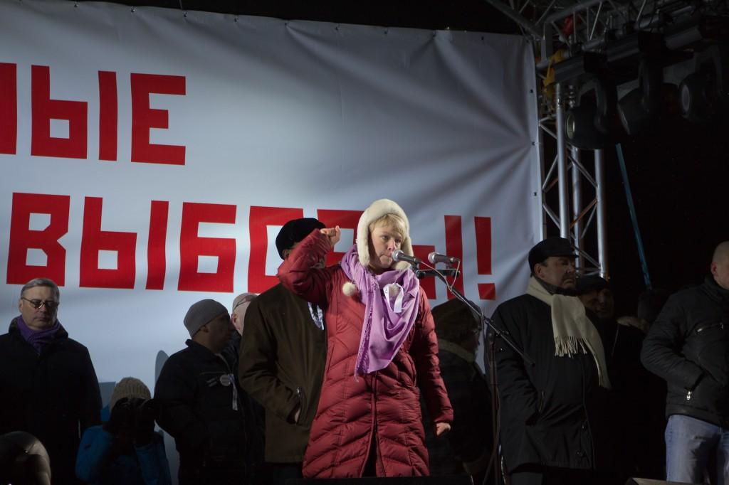 Митинг на Пушкинской площади Евгения Чирикова