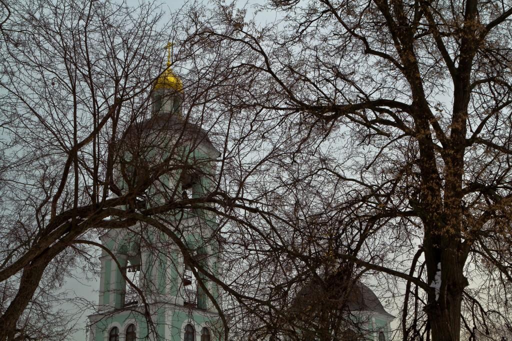Царицыно - Церковь Пресвятой Богородицы Живоносный источник