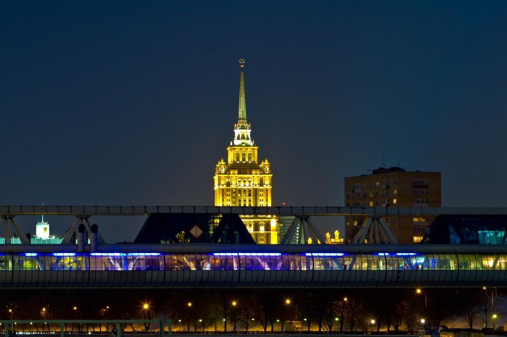 Москва-Сити - Мост Багратион