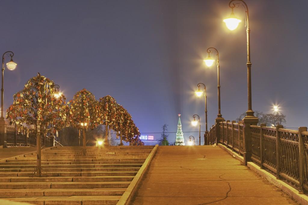 Лужков мост HDR