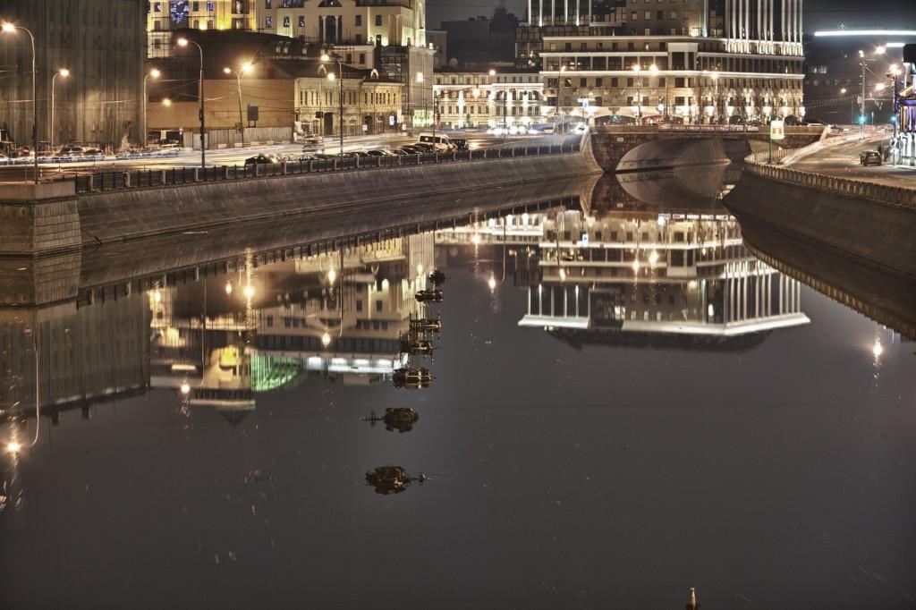 Малый Москворецкий мост HDR