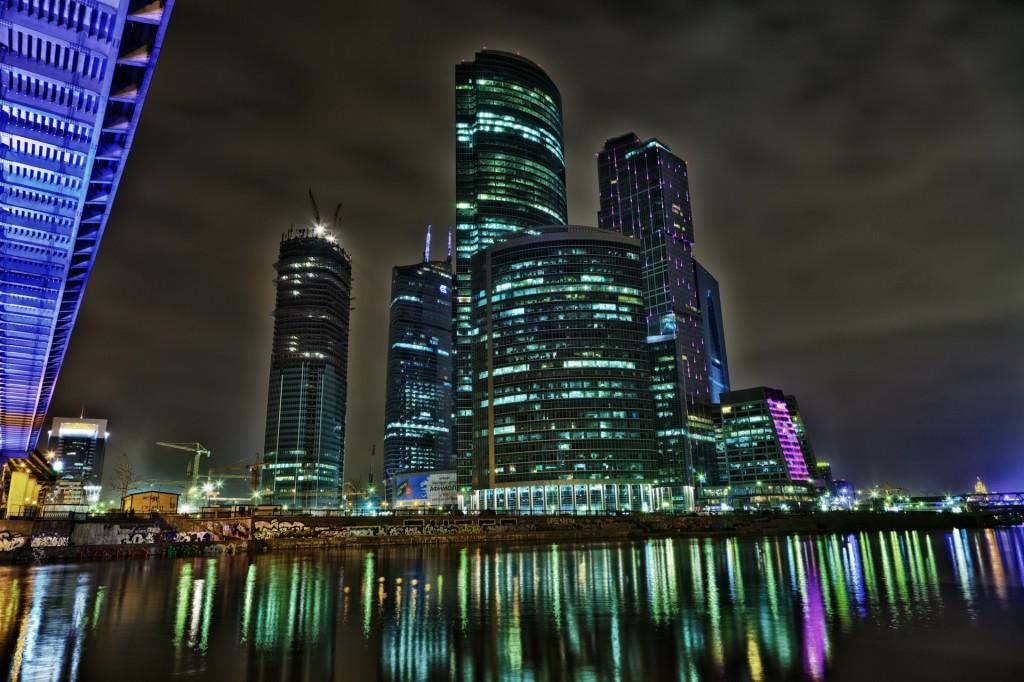 Москва-сити HDR