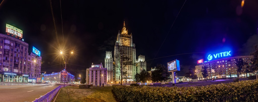 Смоленская-Сенная площадь панорама