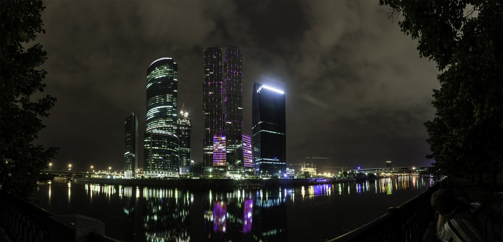 Москва-Сити. Панорама