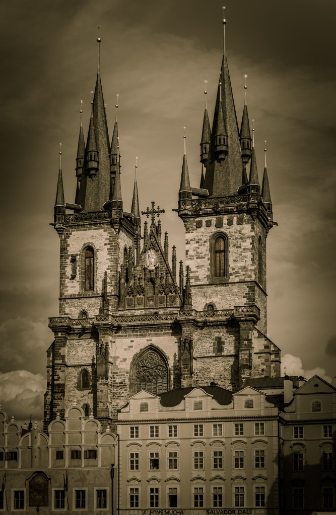 Прага. Храм Девы Марии перед Тыном