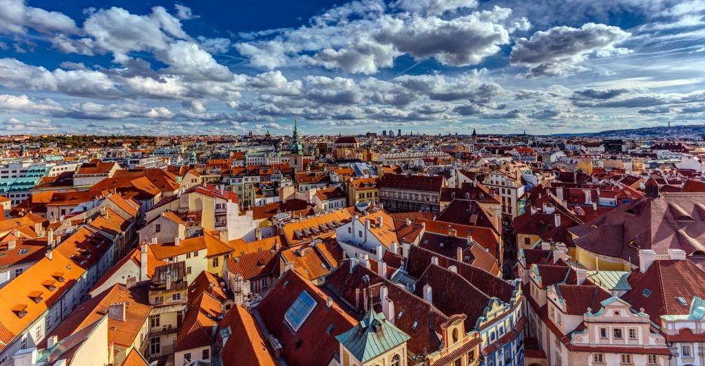 Прага. Вид с Староместской ратуши