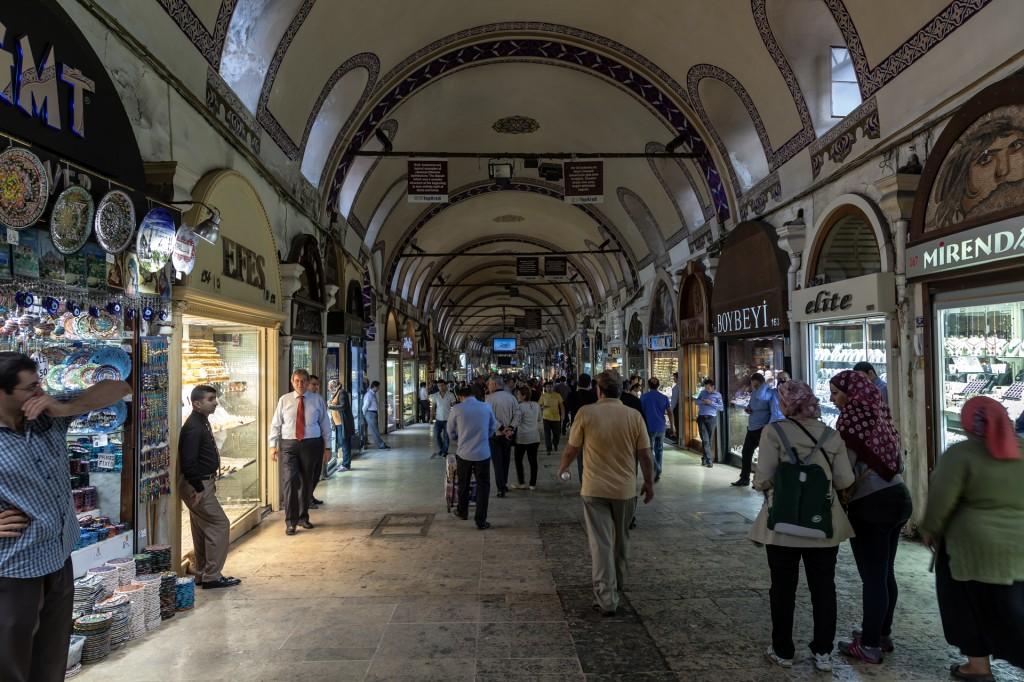 Стамбул: Grand Bazaar (Kapali Carsisi)