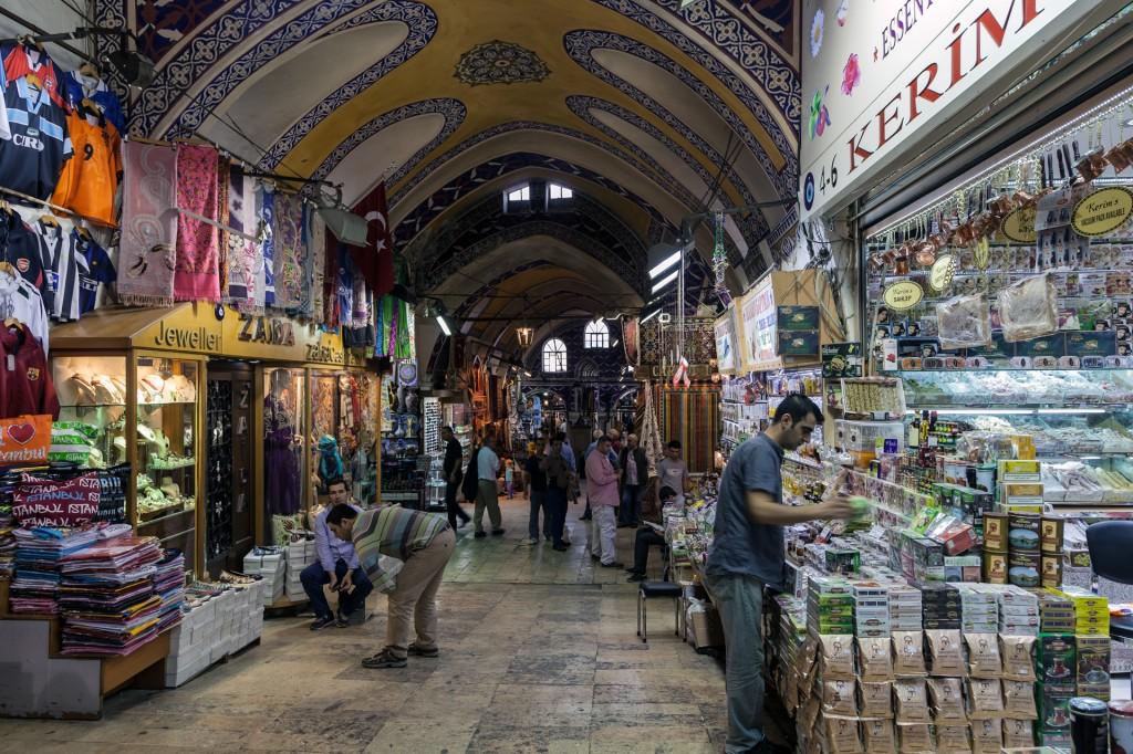 Стамбул Grand Bazaar (Kapali Carsisi)