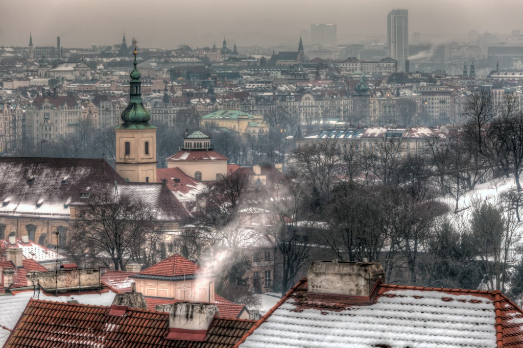 Февральская Прага. Пражский Град