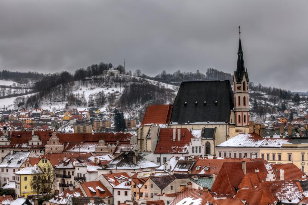 Чешский Крумлов. Церковь Святого Витта