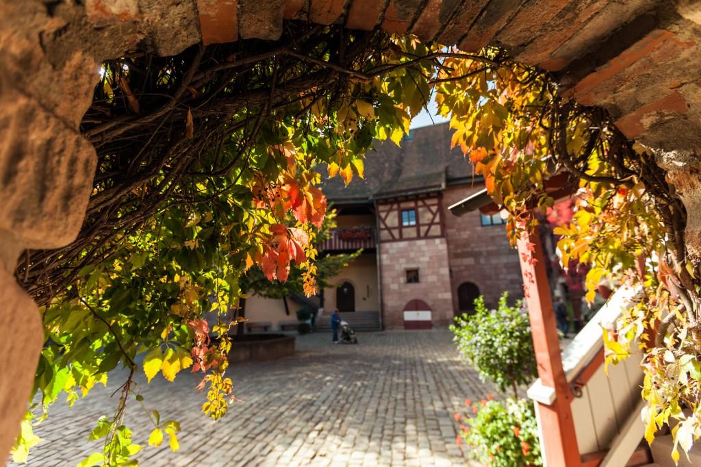 Императорский замок Кайзербург в Нюрнберге