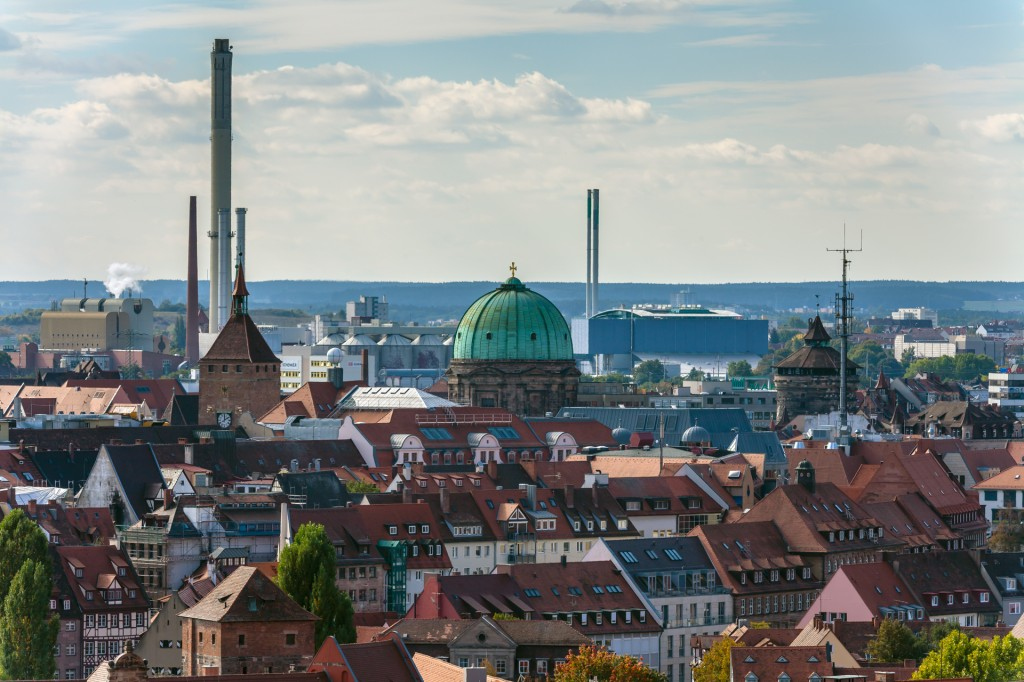 Нюрнберг вид с Кайзербурга