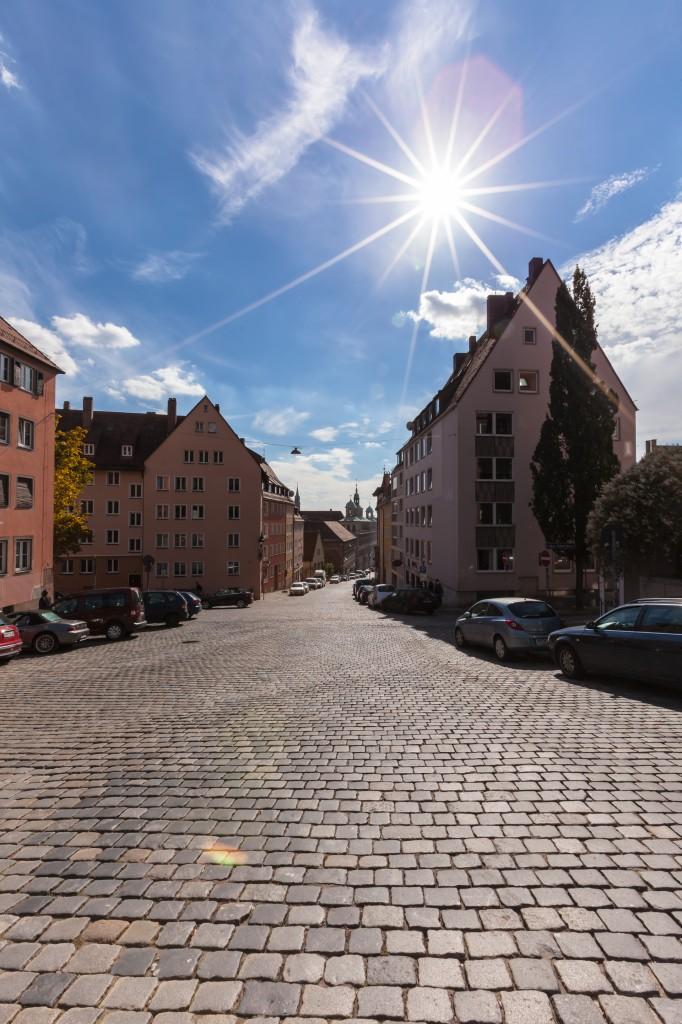 Нюрнберг. Улицы.