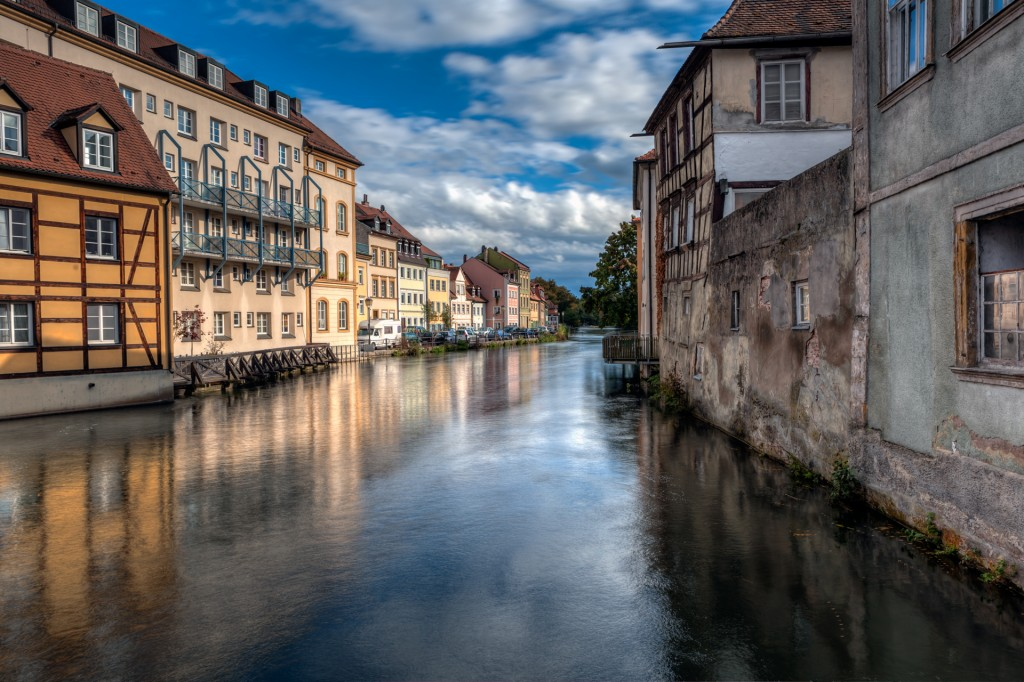 Бамберг. Река