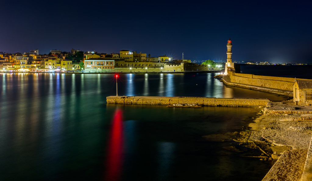 Крит. Ночная Ханья
