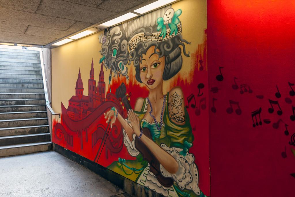 Граффити в Зальцбурге