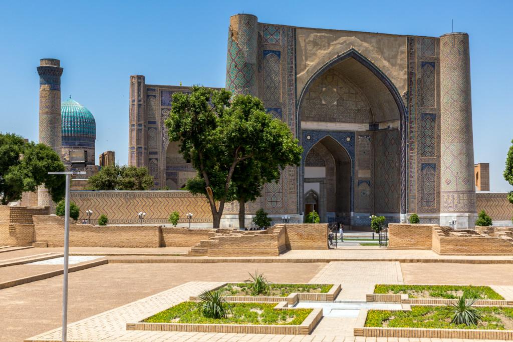 Самарканд. Регистан