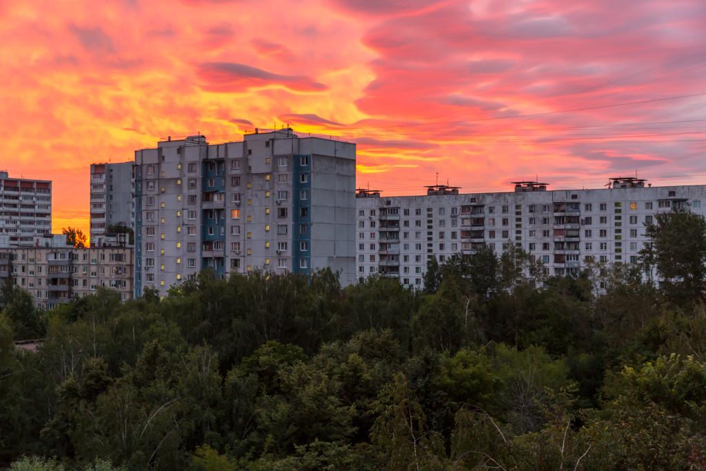 Восход в Москве